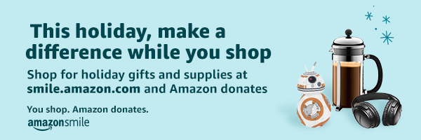 Amazonsmile holiday giving